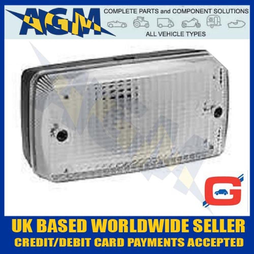 Universal Mounting Rear Reversing Reverse Lamp Light Bracket/Flush Mount