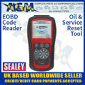 eobd, code, reader, oil, service, reset, tool, ols301, sealey