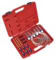 Sealey VS2048 Diesel Injection Leak Back Master Kit - 1