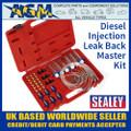 Sealey VS2048 Diesel Injection Leak Back Master Kit