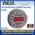 LED Autolamps 1XRWE MaXilamp LED Reverse Lamp, 12-24v