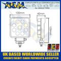 LED Autolamps  10015BM LED Square Flood Lamp 12/24v
