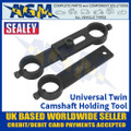 Sealey VSE889 Universal Twin Camshaft Holding Tool