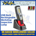 LED Autolamps HH190-1 USB Dock Rechargeable Workshop Inspection Lamp