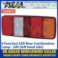 Durite 0-085-50 6 Function LED Rear Combination Lamp, 24V, Left Hand Side
