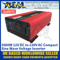 Durite 0-857-30 3000W 12V DC to 230V AC Compact Sine Wave Voltage Inverter