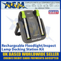 Sealey LED1801K Rechargeable Floodlight/Inspection Lamp Docking Station Kit