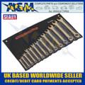 Sealey NS001 Combination Spanner Set 13pc 8-32mm 'Beryllium Copper' Non-Sparking