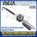 Sealey AK4565D Oil Hose End Gun with Digital Meter