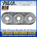 LED Autolamps 82B3C Triple Chrome Bracket for 82 Series