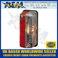 HELLA Side Marker Lamp with CLEAR Illumination FRONT & RED Illumination REAR