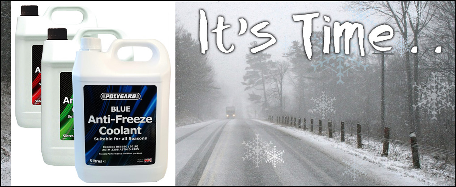 Winter Is Coming - Polygard Antifreeze Is Perfect For Your Vehicle
