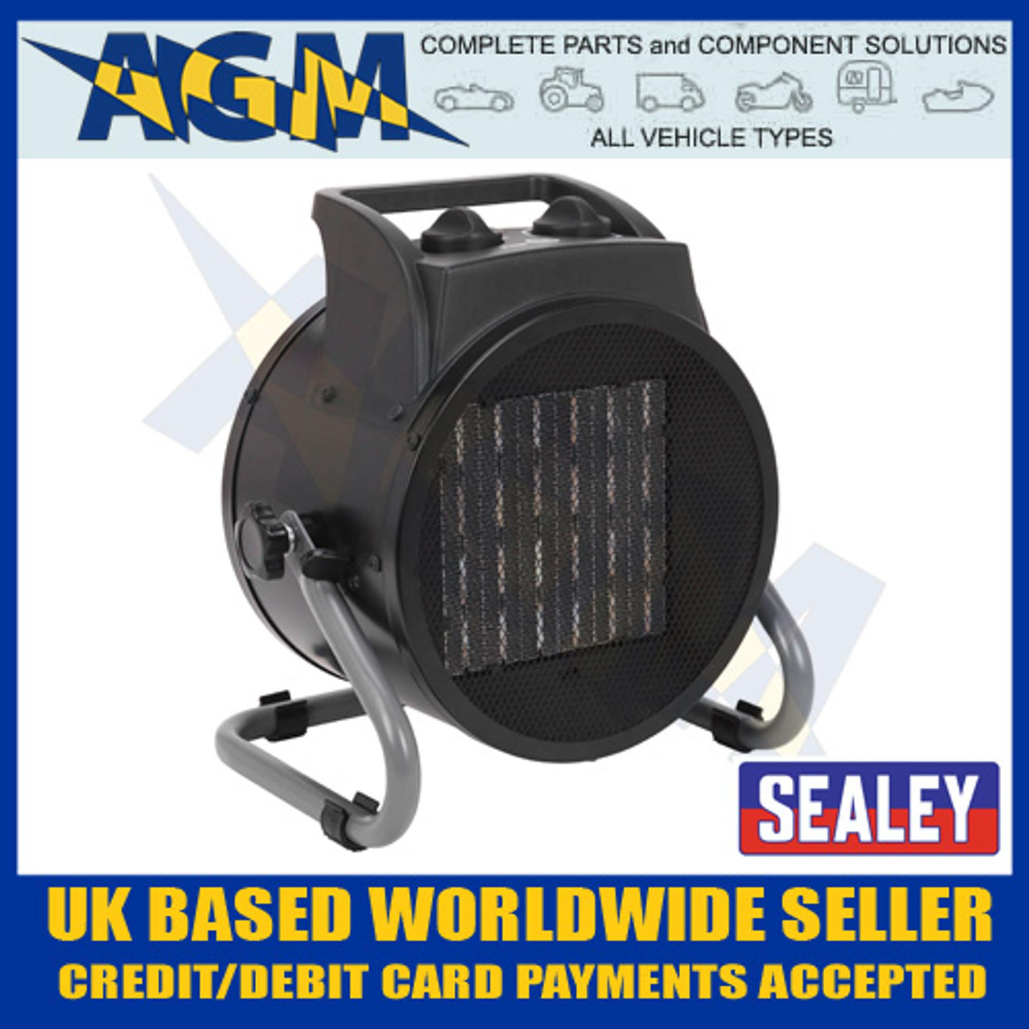 3000W Industrial PTC Fan Heater 230V