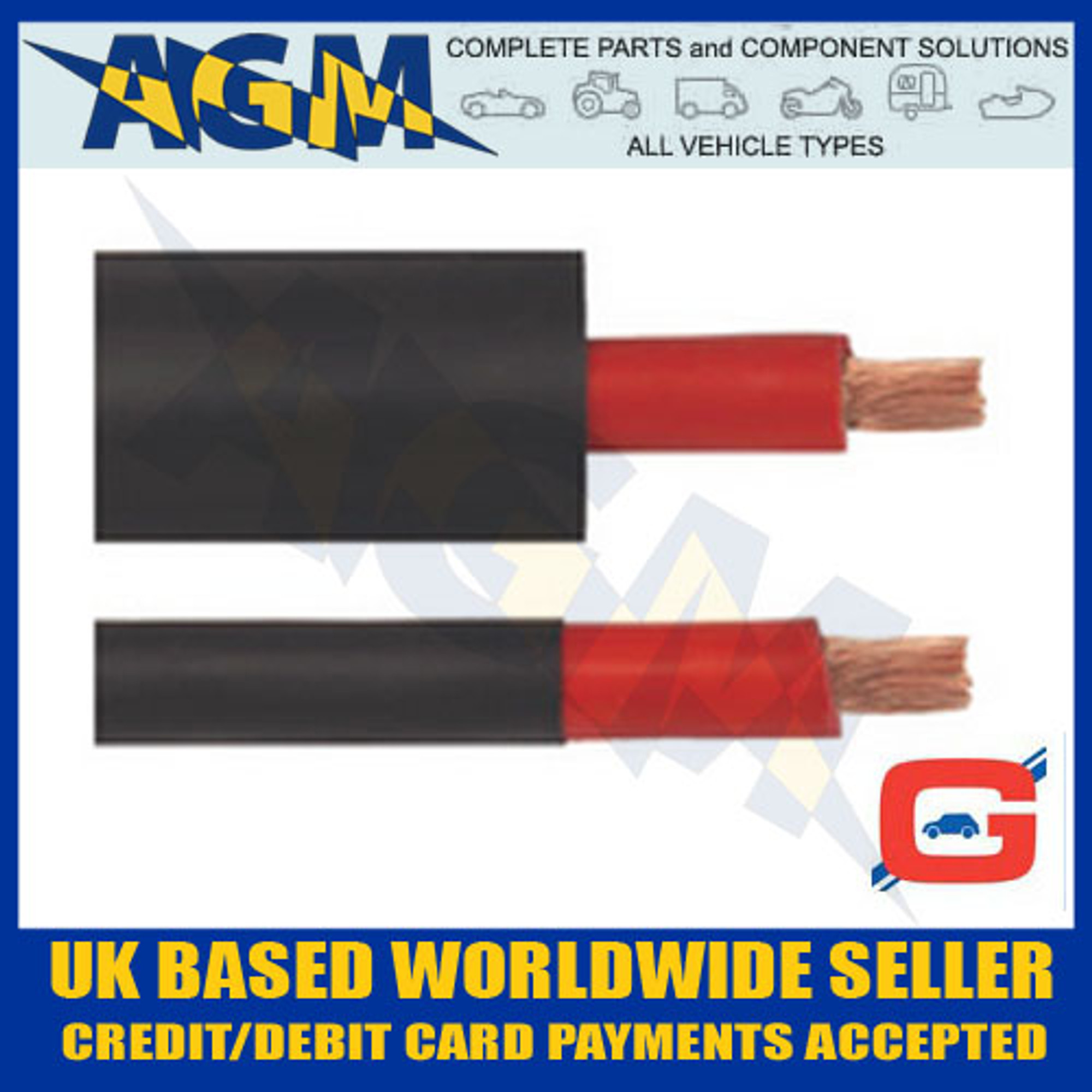 Heat Shrink Tubing 2:1 Ratio RED 9.5mm 5m 5 metres