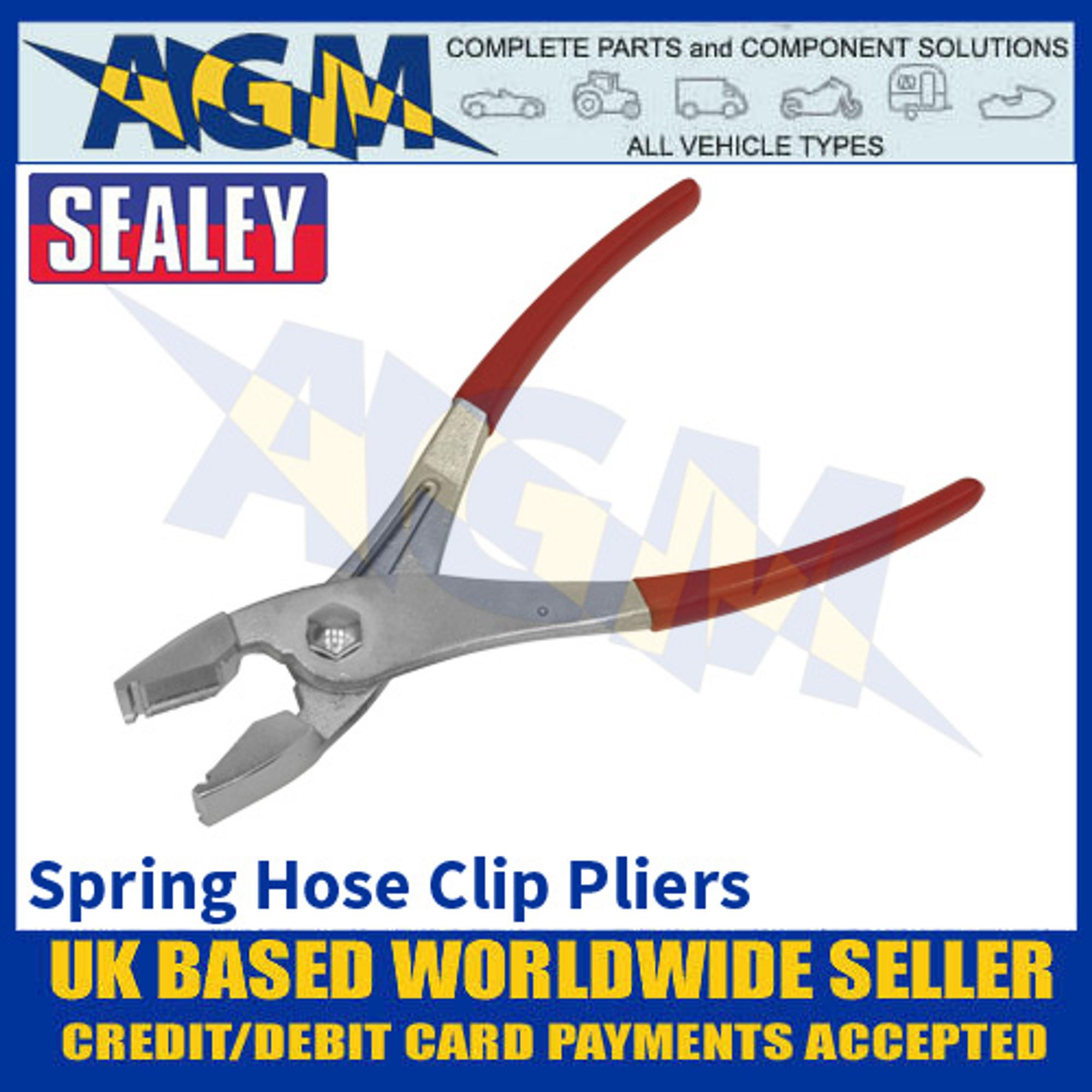Sealey VS1674 Spring Hose Clip Pliers - Pliers for Spring Hose Clips