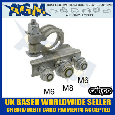 durite, 0-087-75, 008775, heavy, duty, galvanised, battery, hold, down, clamp, bracket