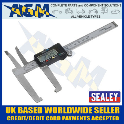 sealey, vs0566, digital, brake, disc, measuring , gauge, caliper