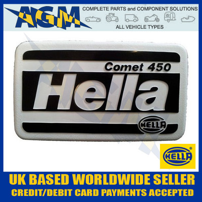 Hella COMET 450 Protective Cover - Spot Fog Driving Lamp