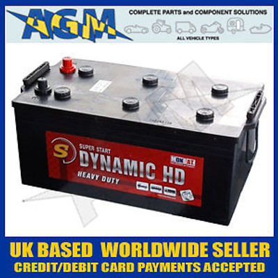 Monbat Dynamic HD Battery 225AH, 1450A, Type 632 IVECO, DAF, CF