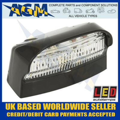 LED Autolamps 41BLM Number or Registration Plate Lamp 12/24V
