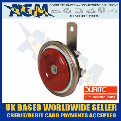 Durite 0-642-26 Disc Shaped Horn 24v, 430Hz High Tone