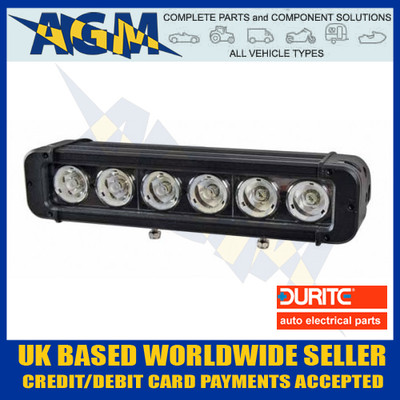 Durite  0-420-91 12v-24v 6 x 10W LED Spot/Driving Light Bar