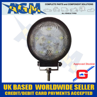 guardian, wlL52, led, 12v, 24v, search, light, work, lamp