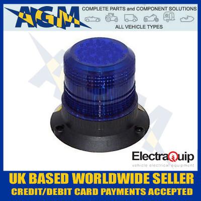 electraquip, 130bbm, compact, blue, led, beacon, 12v, 24v