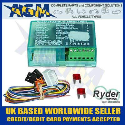 ryder, smart, logic, bypass, relay, tf2218/7h, can, bus, multi, plex, wiring