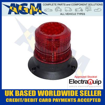 electraquip, 130rbm, compact, red, led, beacon, 12v, 24v