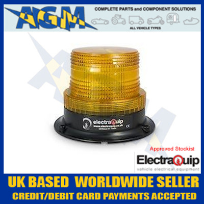 electraquip, 128AMF,  compact, amber, led, beacon, 12v, 24v