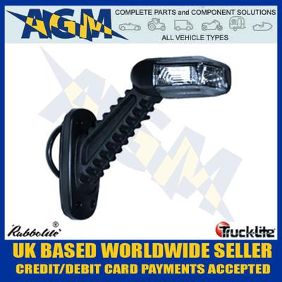 trucklite, rubbolite, rh, led, end, outline, marker, lamp, rubber, stalk, red, white, amber, ss61022, ss/61022