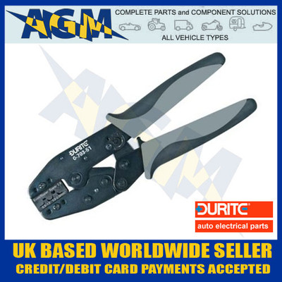 durite, 070351, 0-703-51, econoseal, superseal, terminal, connector, crimping, pliers, crimper, tool