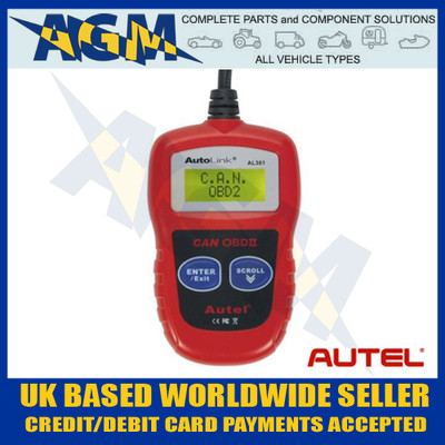 autel, al301, eobd, code, reader, entry, level