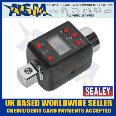 sealey, stw292, torque, adaptor, digital