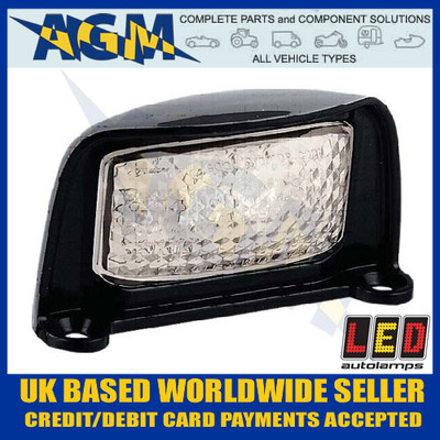 led, autolamps, 35blm, registration, number, plate, lamp, light, 12v, 24v