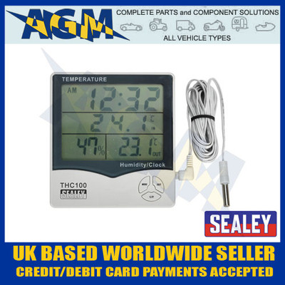 sealey, thc100, panel, digital, thermometer, temperature