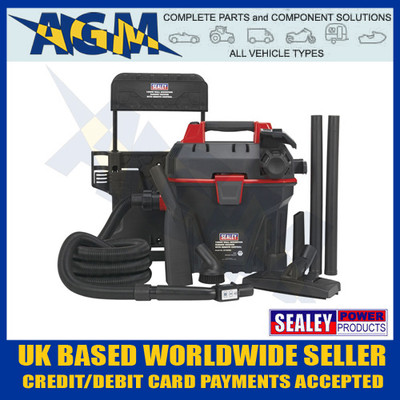 sealey, gv180wm, vacuum, system