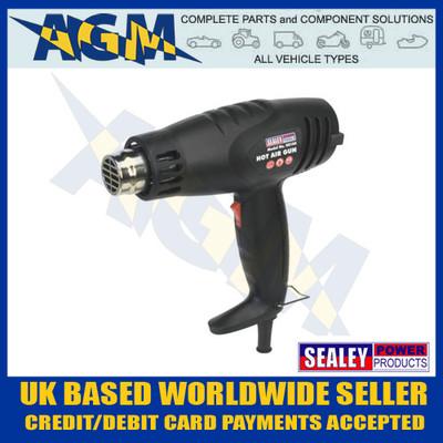 Sealey HS105, 1600w, 2 Speed Hot Air Heat Gun 370/500 Degrees C