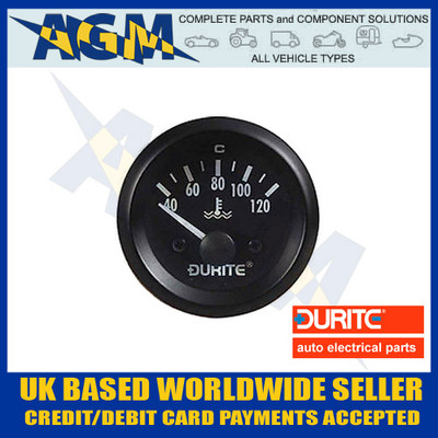 durite, 0-523-73, 052373, marine, 24v, temperature, gauge, sender