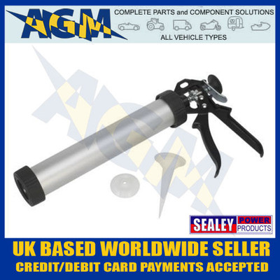 sealey, ak3803, sealant, caulking, gun, sausage, cartridge
