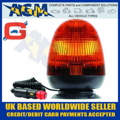 amb72, rotating, halogen, beacon, magnetic, suction