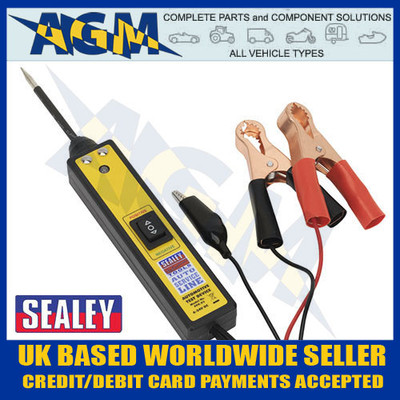 sealey, ppx, auto, probe, plus, 6v, 12v, 24v, circuit, tester