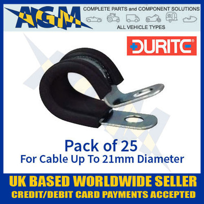 durite, 0-002-86, 000286, pclip, clip, cable