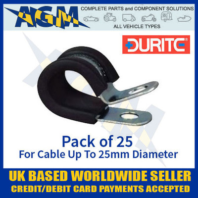durite, 0-002-87, 000287, pclip, clip, cable