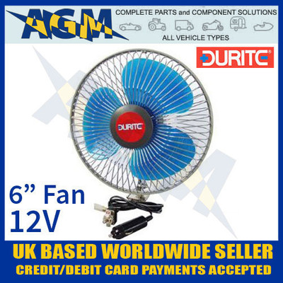 durite, 0-210-32, 021032, vehicle, 12v, oscillating, fan