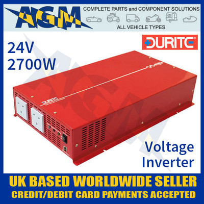 0-857-77, 24v, 2700w, durite, sine, wave, voltage, inverter