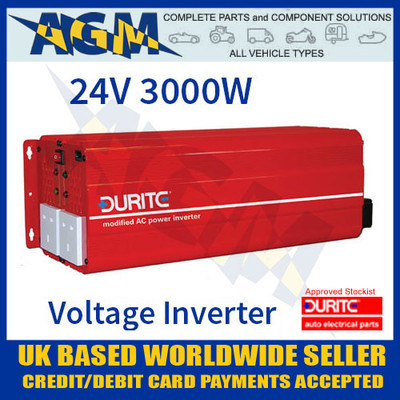 durite, 0-856-80, 085660, 24v, 3000w, 3kw, modified, wave, voltage, inverter