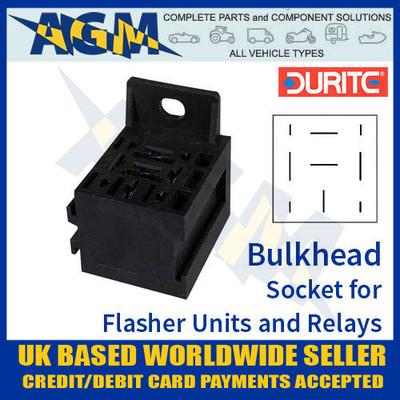 durite, 0-729-00, 72900, bulkhead, socket, flasher, relay