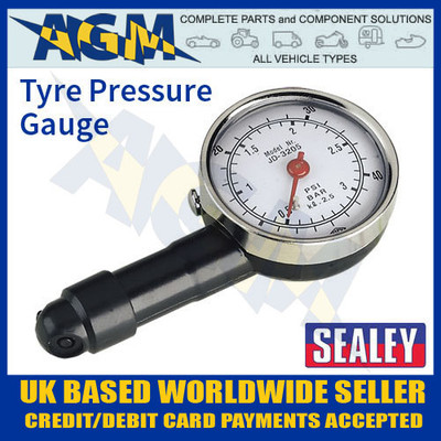sealey, tst, pg, 97, tyre, pressure, gauge, dial